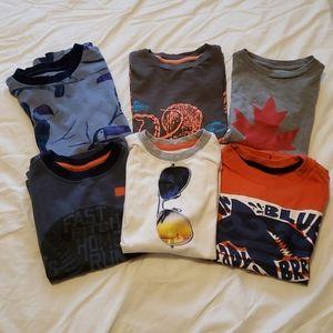 6/24 Boys T-shirt bundle. Size 5/6.